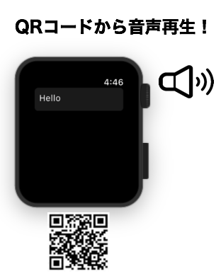 Following two apps via QR code can make text sender and sound player. Offline Text Sender | QR Sound Speaker